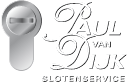 Paul van Dijk Slotenservice Logo